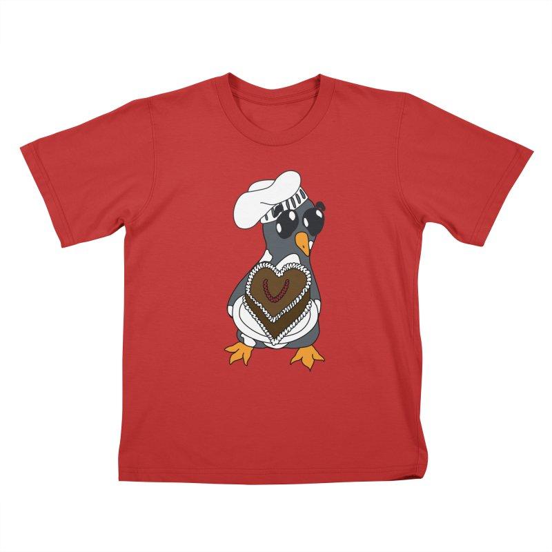 <3 U, baked Kids T-Shirt by bluetea1400's Artist Shop