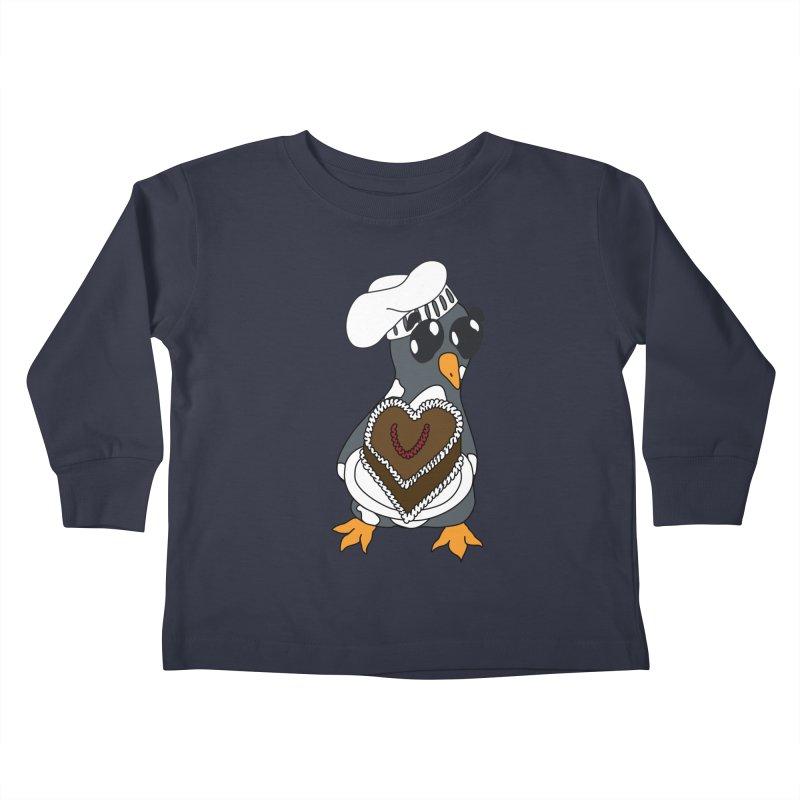 <3 U, baked Kids Toddler Longsleeve T-Shirt by bluetea1400's Artist Shop
