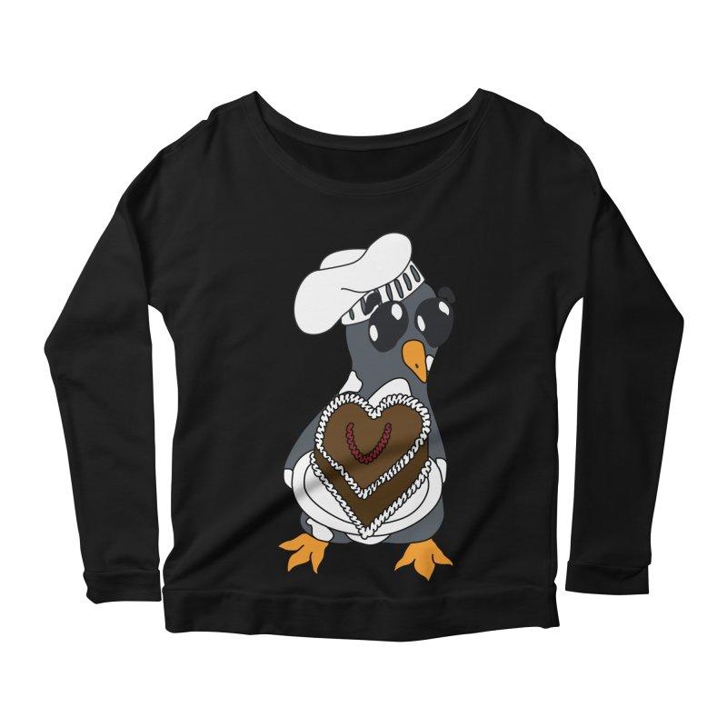 <3 U, baked Women's Scoop Neck Longsleeve T-Shirt by bluetea1400's Artist Shop
