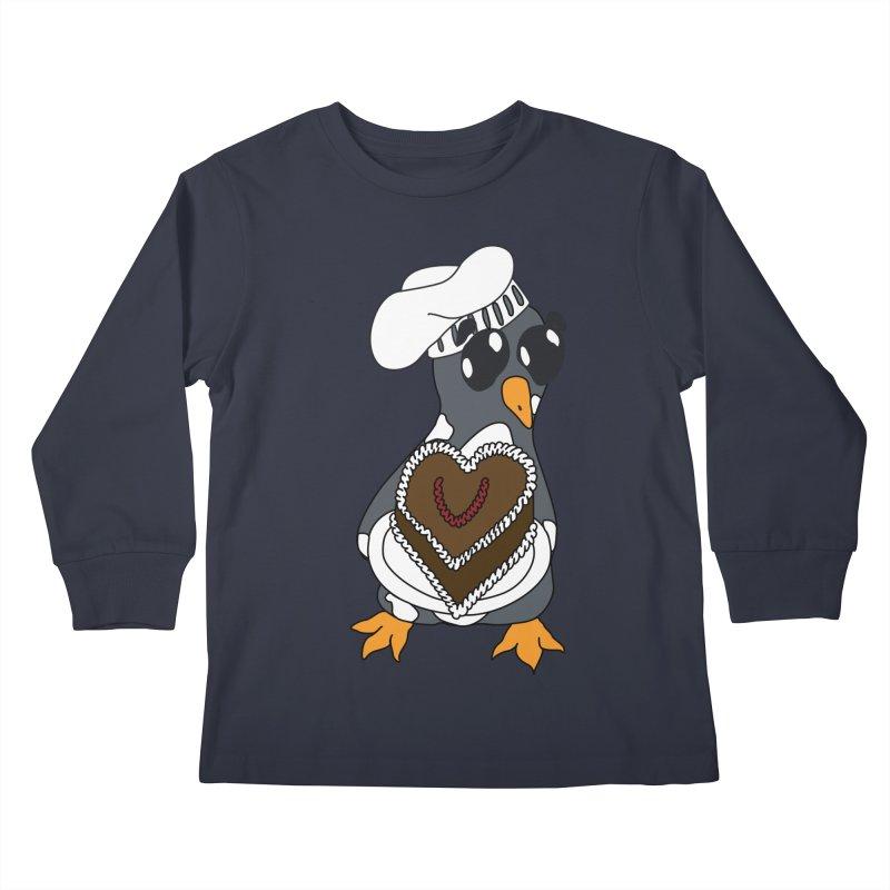<3 U, baked Kids Longsleeve T-Shirt by bluetea1400's Artist Shop