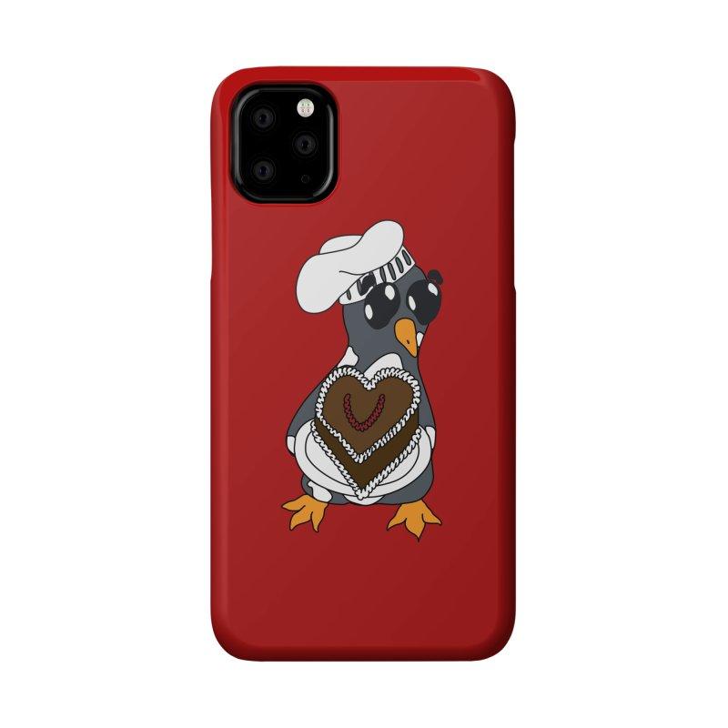 <3 U, baked Accessories Phone Case by bluetea1400's Artist Shop