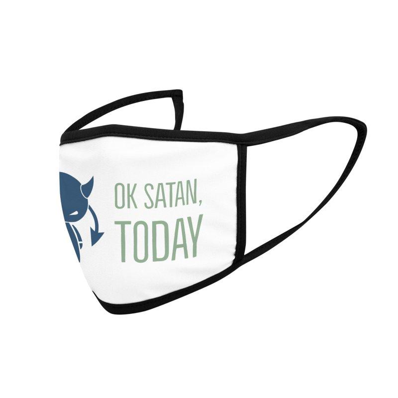 OK Satan Accessories Face Mask by Blueteamgo's Shirt Shop