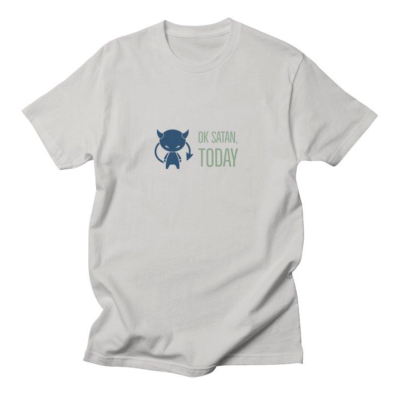 OK Satan Men's T-Shirt by Blueteamgo's Shirt Shop