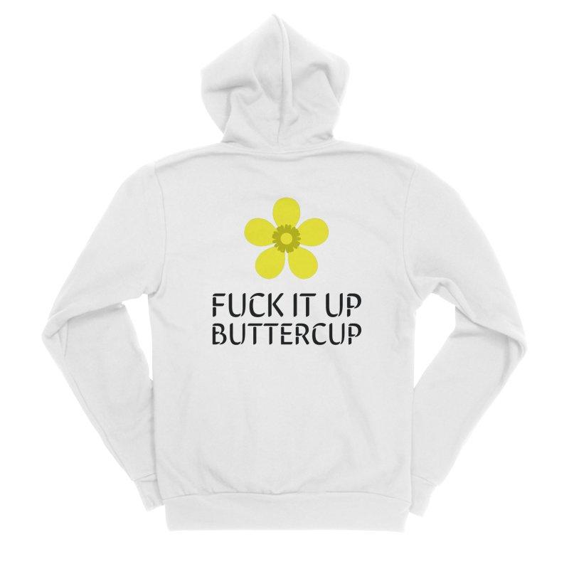 Buttercup Men's Zip-Up Hoody by Blueteamgo's Shirt Shop