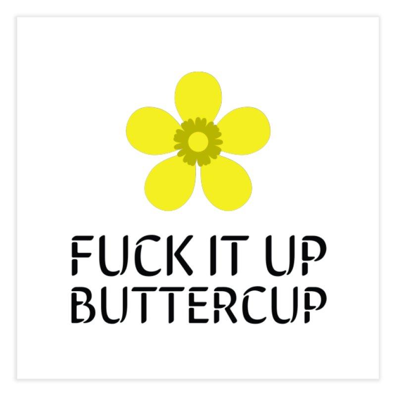 Buttercup Home Fine Art Print by Blueteamgo's Shirt Shop