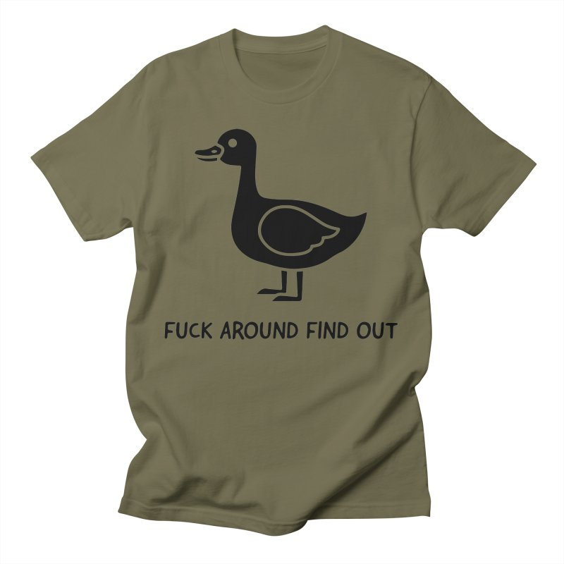 FAFO Goose Men's T-Shirt by Blueteamgo's Shirt Shop