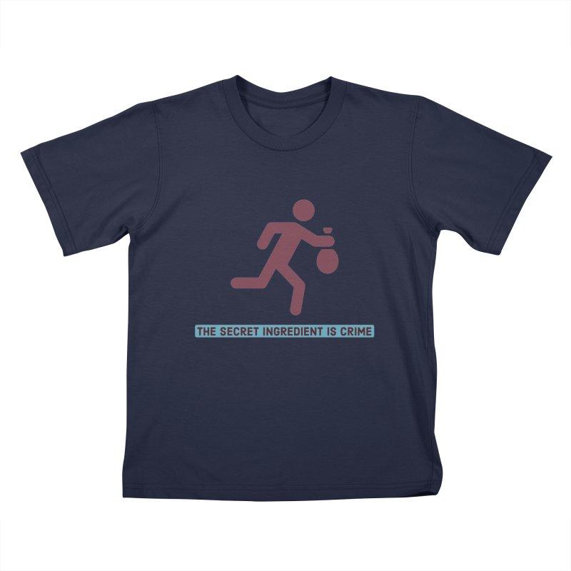 Secret Ingredient Kids T-Shirt by Blueteamgo's Shirt Shop