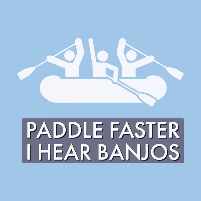 Paddle Faster Kids T-Shirt by Blueteamgo's Shirt Shop