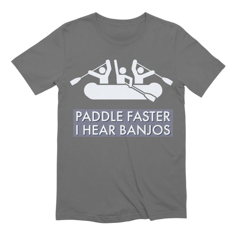 Paddle Faster Men's T-Shirt by Blueteamgo's Shirt Shop