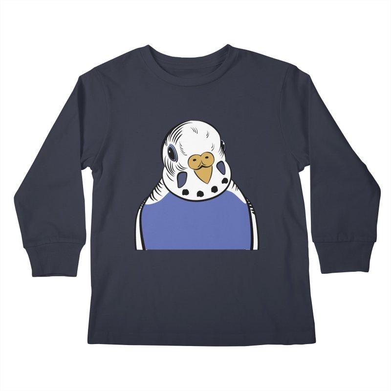 Bluey Boronia (official logo) Kids Longsleeve T-Shirt by Bluey Boronia & friends - Artist Shop