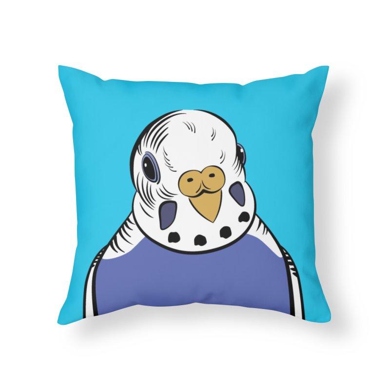 Bluey Boronia (official logo) Home Throw Pillow by Bluey Boronia & friends - Artist Shop
