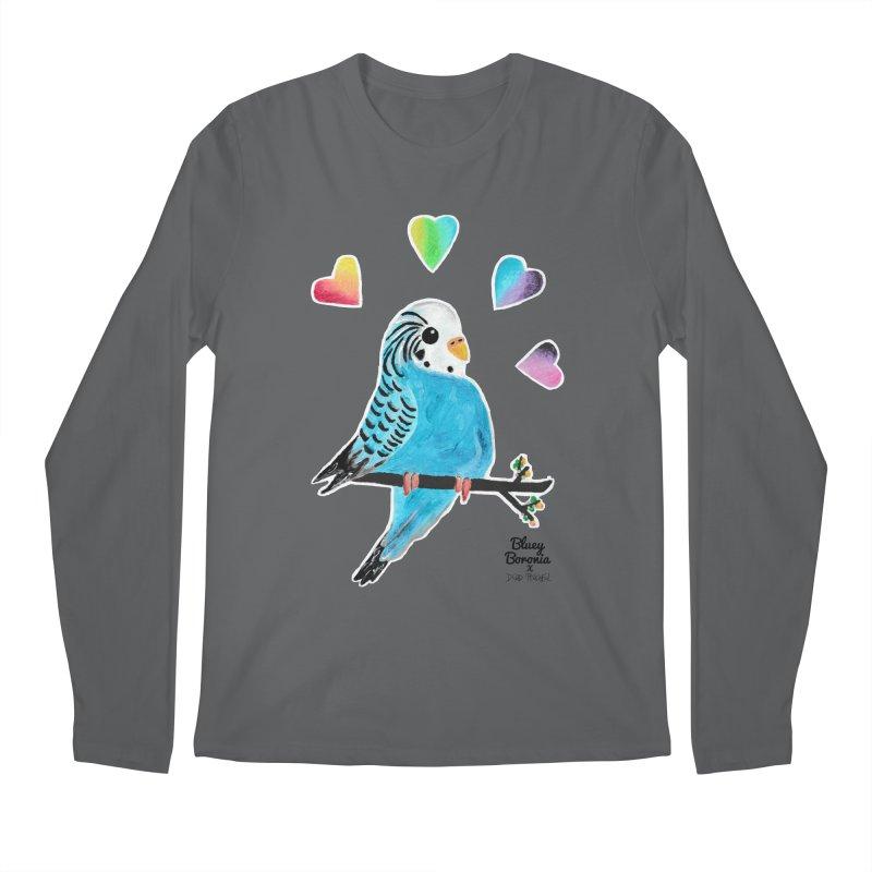 Bluey Boronia x Dead Peaceful (2020) Men's Longsleeve T-Shirt by Bluey Boronia & friends - Artist Shop