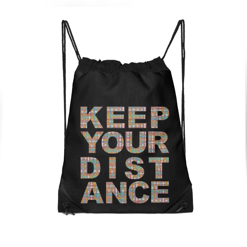 Keep your distance (BWT 2021) Accessories Bag by Bluey Boronia & friends - Artist Shop