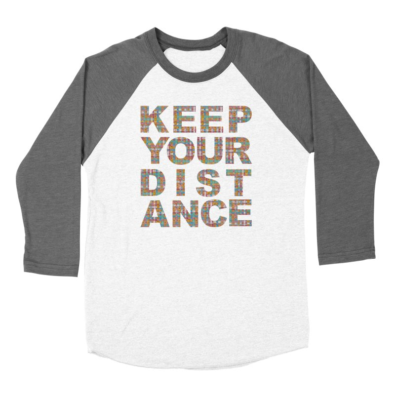 Keep your distance (BWT 2021) Women's Longsleeve T-Shirt by Bluey Boronia & friends - Artist Shop