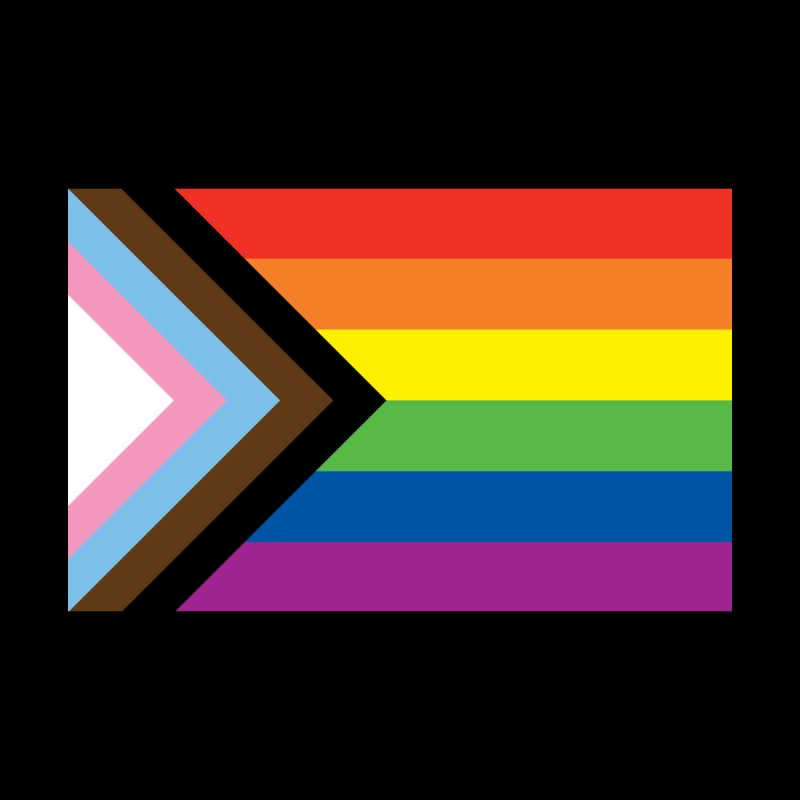 Progress Pride Flag Design Men's Cut & Sew by Bluey Boronia & friends - Artist Shop