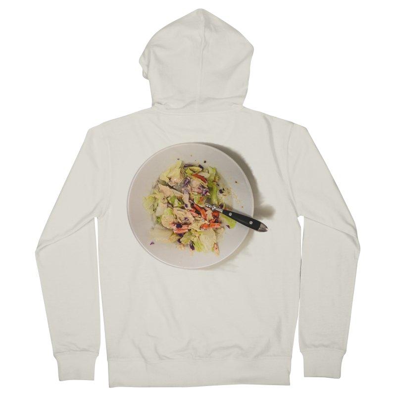 Green Salad #1 Women's Zip-Up Hoody by blunderingweejumble's Artist Shop