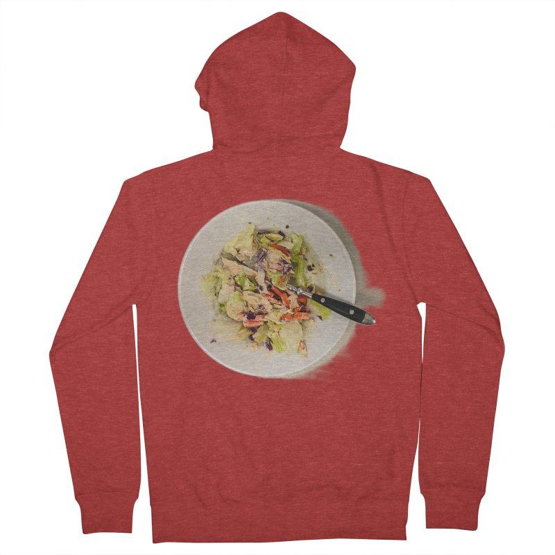 Green Salad #1 Men's Zip-Up Hoody by blunderingweejumble's Artist Shop