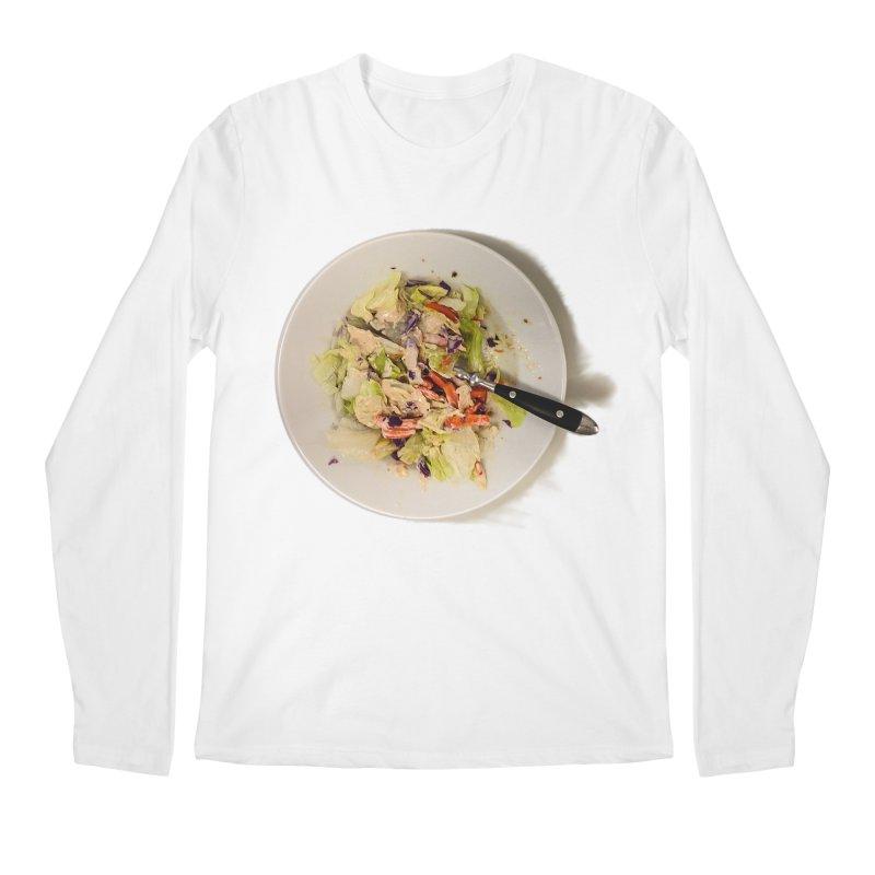 Green Salad #1 Men's Longsleeve T-Shirt by blunderingweejumble's Artist Shop