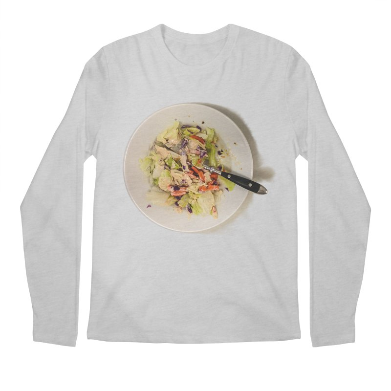 Green Salad #1 Men's Longsleeve T-Shirt by blunderingweejumble's Artist Shop
