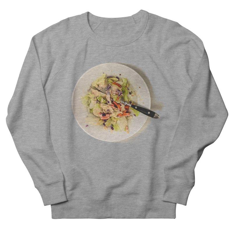 Green Salad #1 Men's Sweatshirt by blunderingweejumble's Artist Shop