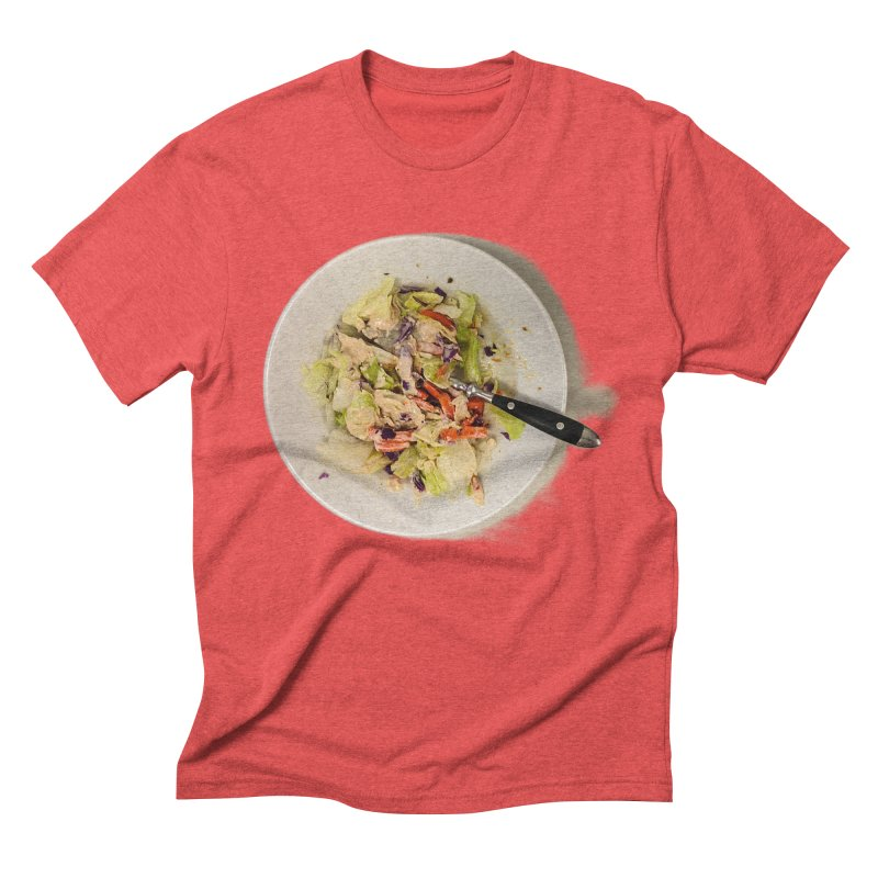Green Salad #1 Men's Triblend T-Shirt by blunderingweejumble's Artist Shop