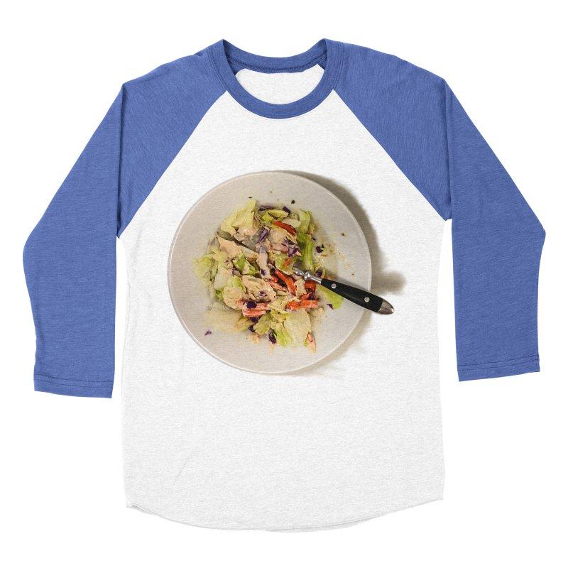 Green Salad #1 Women's Baseball Triblend T-Shirt by blunderingweejumble's Artist Shop