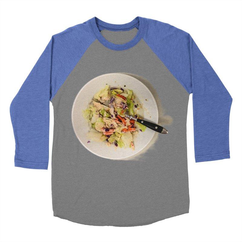 Green Salad #1 Men's Baseball Triblend T-Shirt by blunderingweejumble's Artist Shop