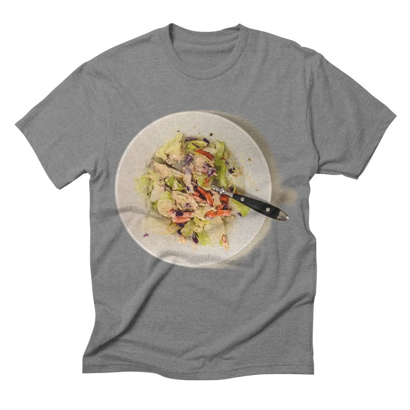 Green Salad #1 Men's Triblend T-shirt by blunderingweejumble's Artist Shop