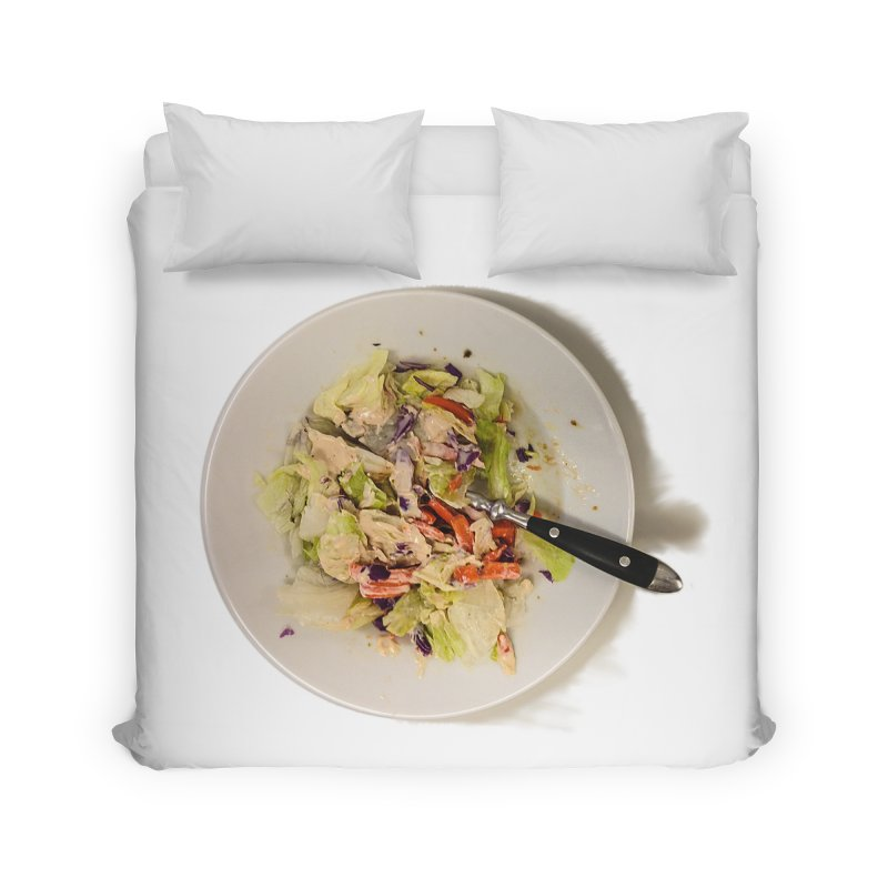 Green Salad #1 Home Duvet by blunderingweejumble's Artist Shop