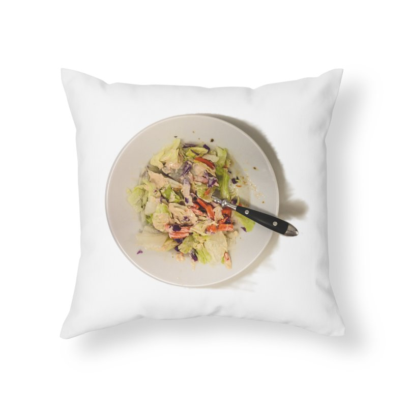 Green Salad #1 Home Throw Pillow by blunderingweejumble's Artist Shop