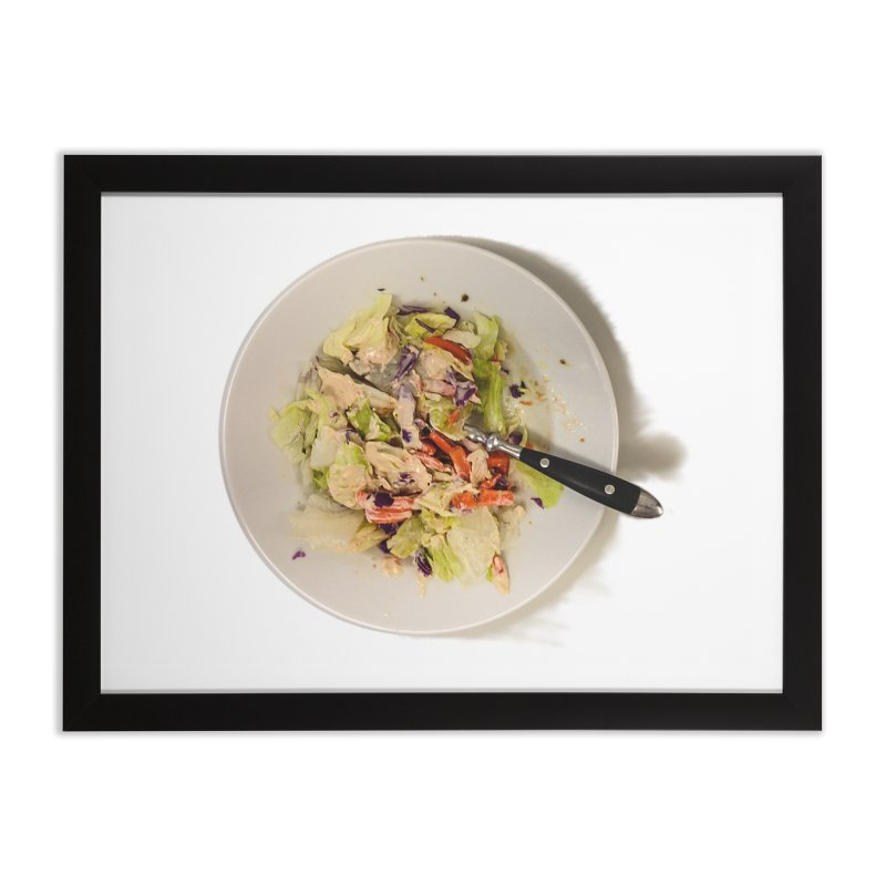 Green Salad #1 Home Framed Fine Art Print by blunderingweejumble's Artist Shop