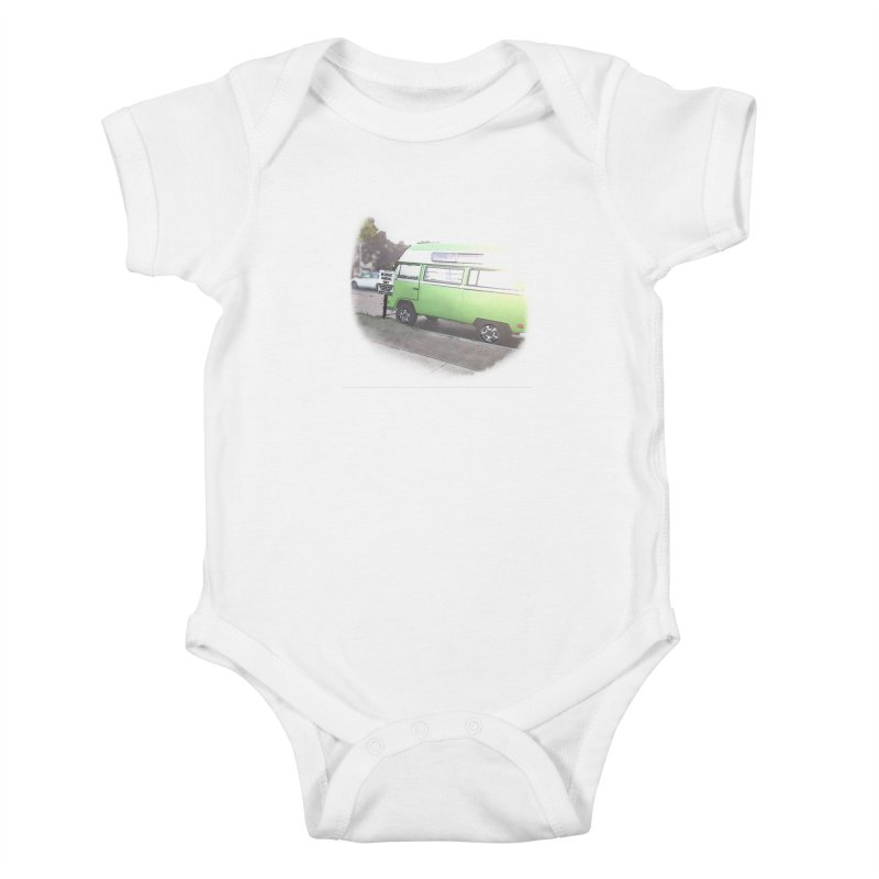 Camp Coronado Kids Baby Bodysuit by blunderingweejumble's Artist Shop