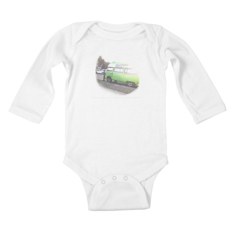 Camp Coronado Kids Baby Longsleeve Bodysuit by blunderingweejumble's Artist Shop
