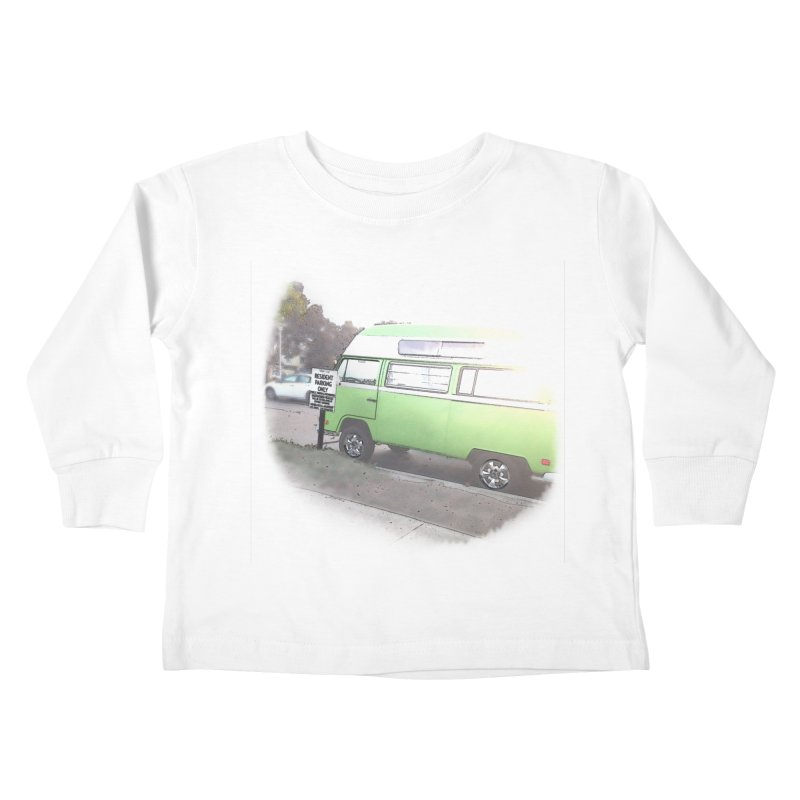 Camp Coronado Kids Toddler Longsleeve T-Shirt by blunderingweejumble's Artist Shop