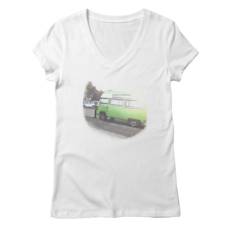 Camp Coronado Women's V-Neck by blunderingweejumble's Artist Shop