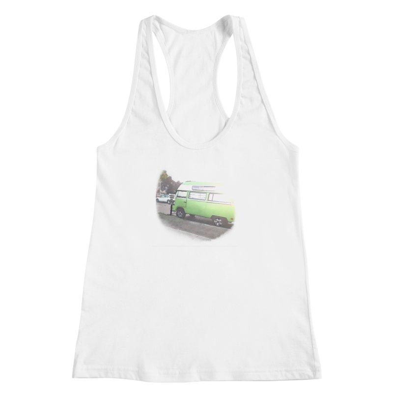 Camp Coronado Women's Racerback Tank by blunderingweejumble's Artist Shop