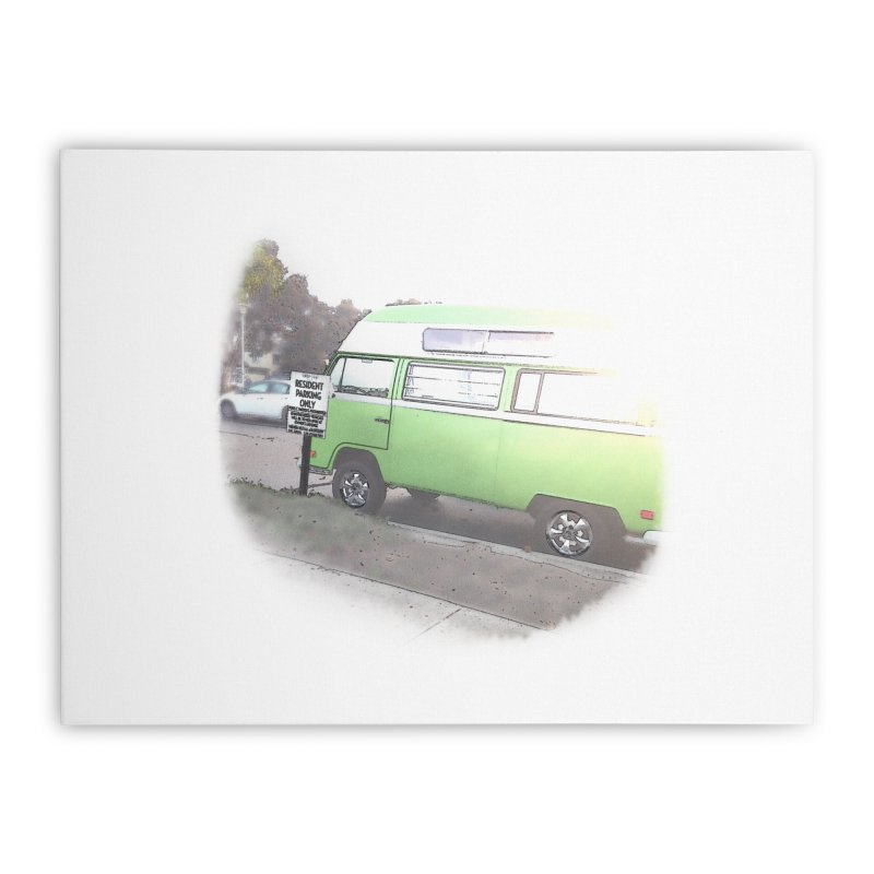 Camp Coronado Home Stretched Canvas by blunderingweejumble's Artist Shop