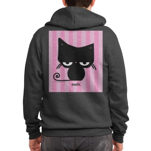 image for Meh Cat in Pink Stripes