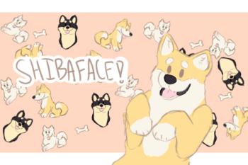 Shibaface! Logo
