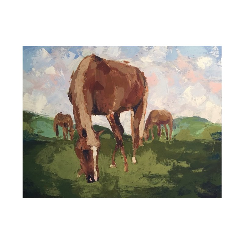 In the Pasture by bmartinart's Artist Shop