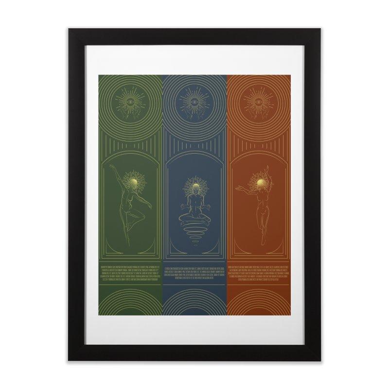 Din, Nayru, Farore Home Framed Fine Art Print by bmartinart's Artist Shop