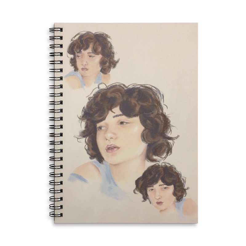 Annemarie Accessories Lined Spiral Notebook by bmartinart's Artist Shop