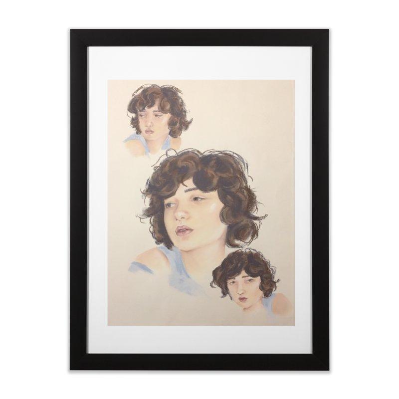 Annemarie Home Framed Fine Art Print by bmartinart's Artist Shop
