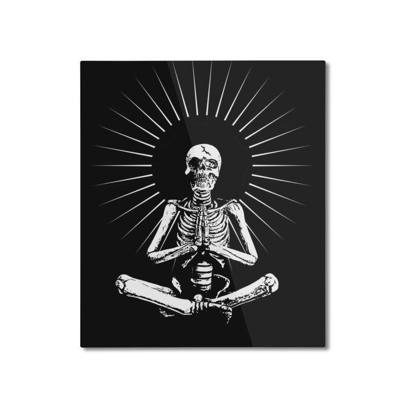 Peace from Within Home Mounted Aluminum Print by bmartinart's Artist Shop
