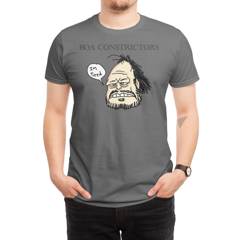 Boa Constrictors Band Men's T-Shirt by Boa Co.