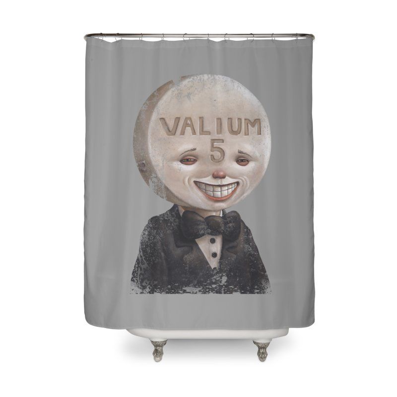 Pill Head Home Shower Curtain by Bob Dob