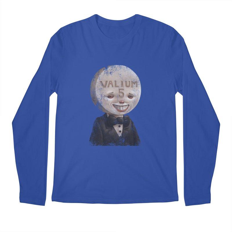 Pill Head Men's Longsleeve T-Shirt by Bob Dob