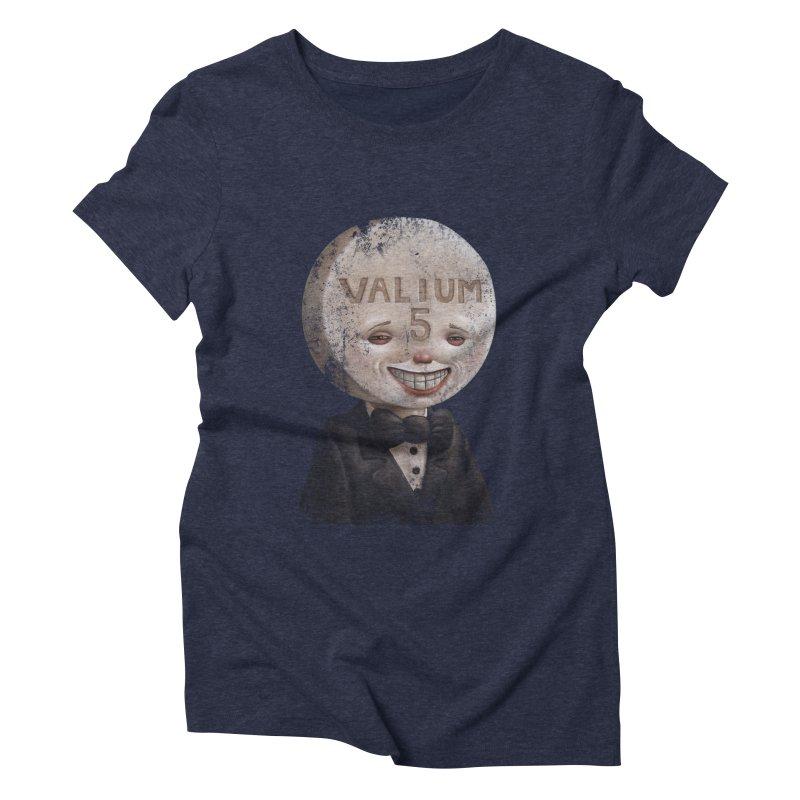 Pill Head Women's Triblend T-shirt by Bob Dob