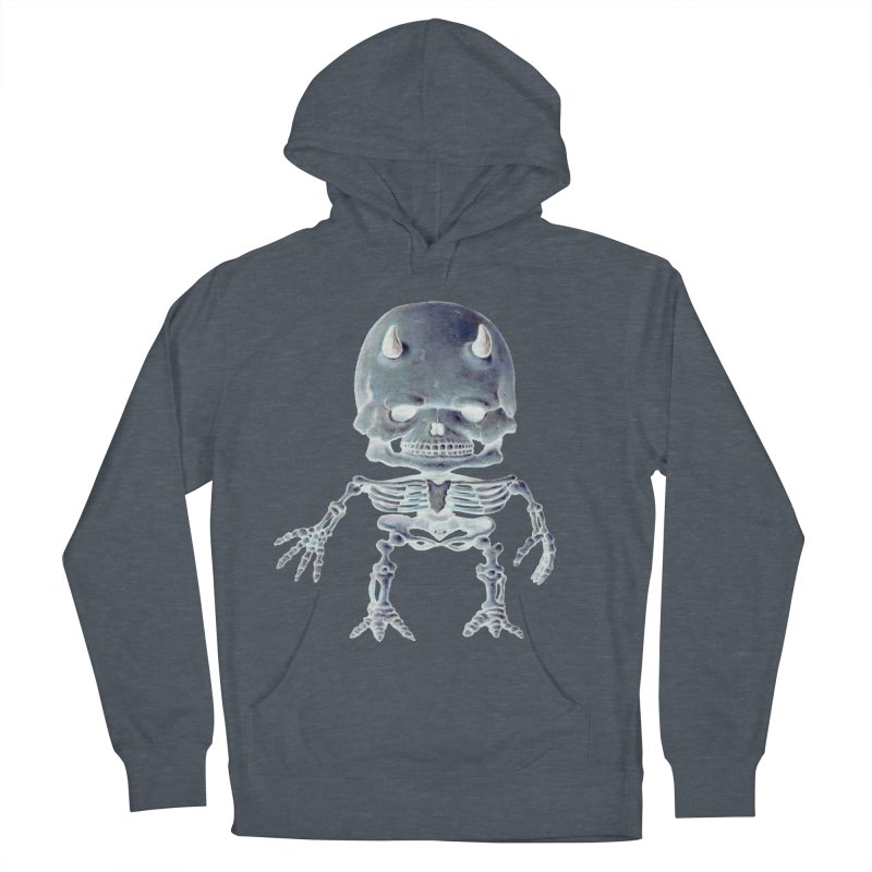 Luey Skeletal Inverted  Women's Pullover Hoody by Bob Dob