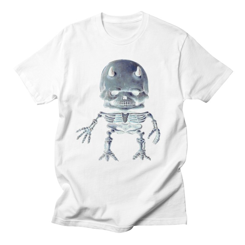 Luey Skeletal Inverted  Men's T-Shirt by Bob Dob